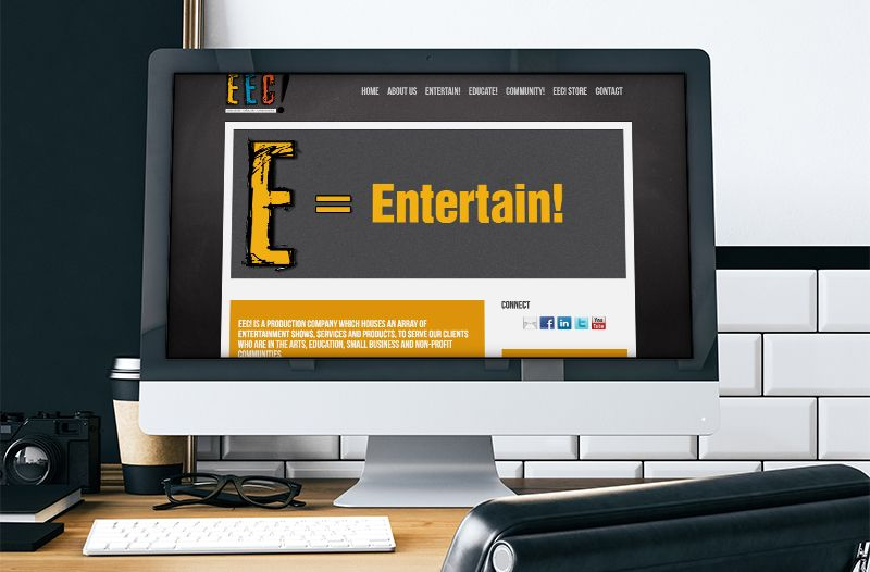 Entertain Educate Community! | Music Collective Web Site + eCommerce