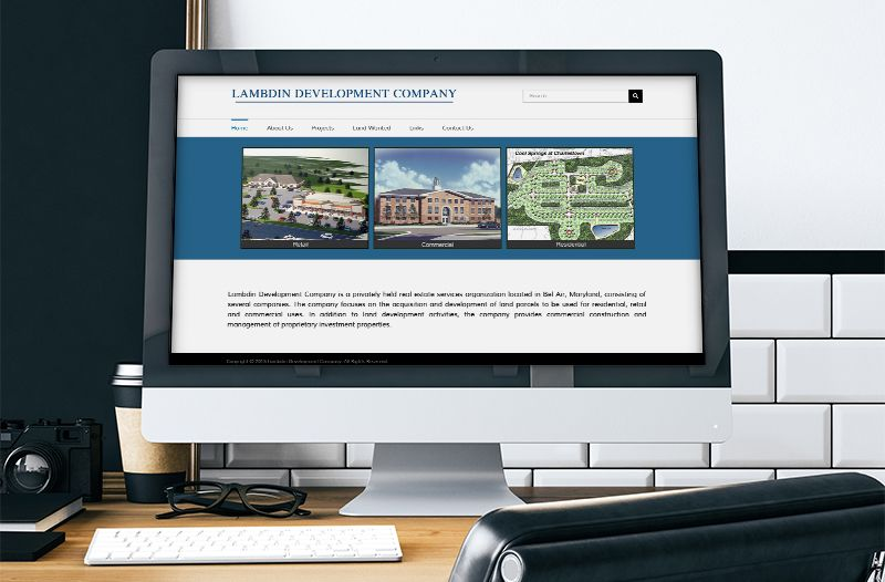 Lambdin Development | Commercial Real Estate Development Web Site